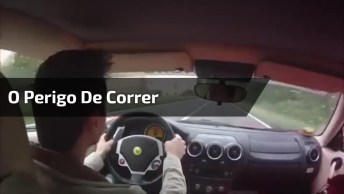 O Perigo De Correr Nas Estradas Com Seu Carro, Quase Que Não Deu Tempo!