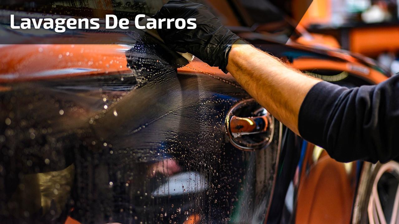 Lavagens de carros