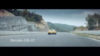 Vídeo Com Propaganda Do Carro Mercedez Amg Gt, Para Enlouquecer. . .