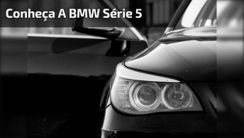 Vídeo Mostrando Bmw Série 5, Olha Só Que Espetáculo De Carro!