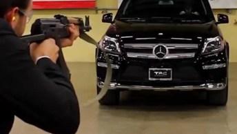 Vidro De Mercedes-Benz Blindado, Que Medo Desse Vidro Falhar!