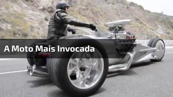 A Moto Mais Invocada Que Você Vai Ver Hoje, Que Estilo Hein!