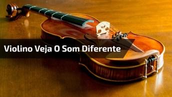 Aceleração De Moto Feita Em Um Violino, Não É Que Ficou Igual?