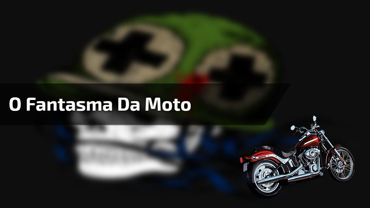 Fantasma rouba moto e piloto sai correndo atrás hahaha, confira!