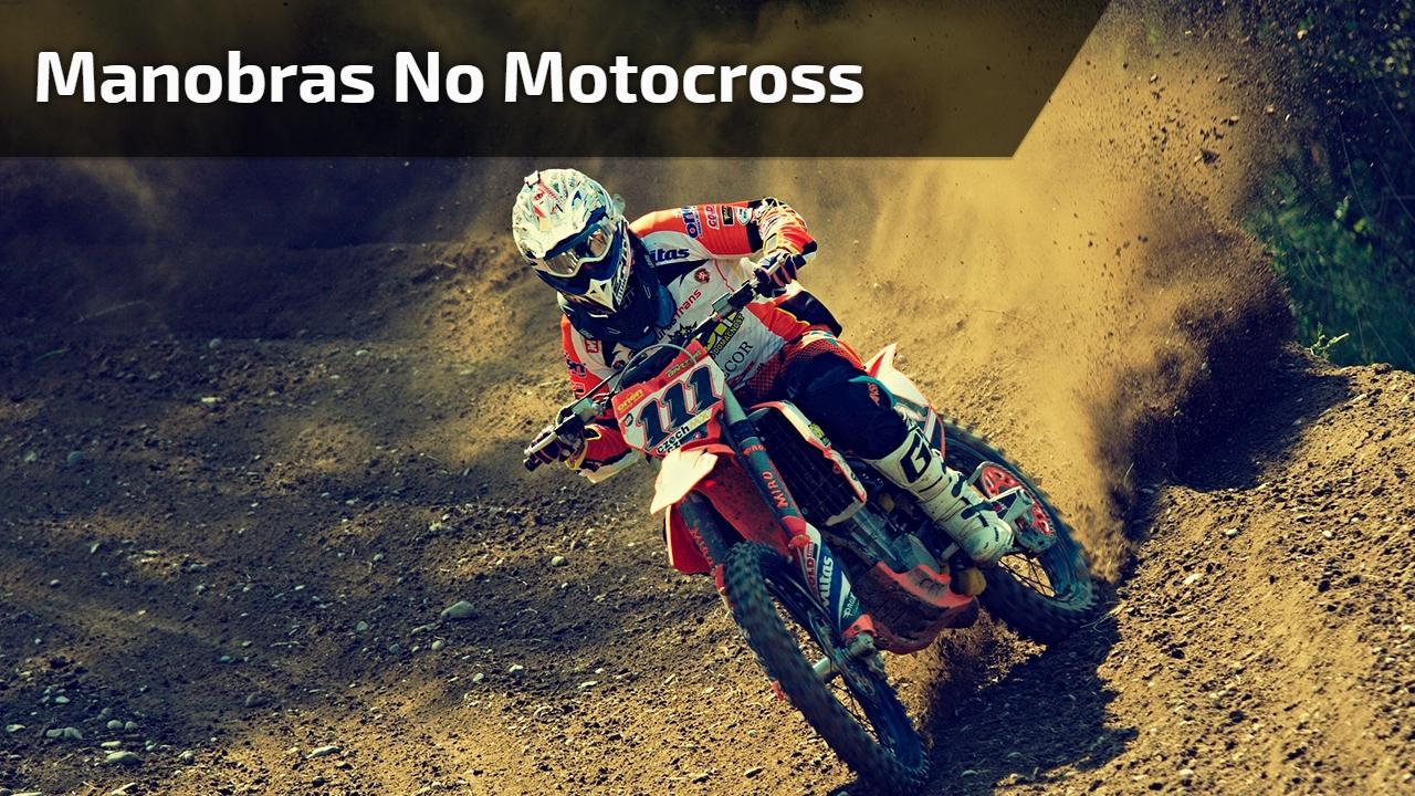 Manobras no motocross