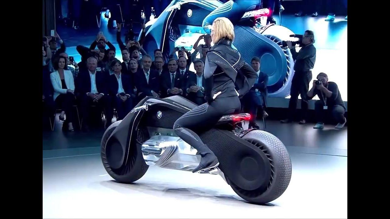 Moto BMW do futuro, que fabricação incrível