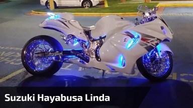 Moto Com Luz Led E Roda Traseira Diferente De Tudo Que Você Já Viu!