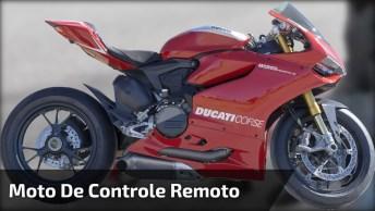 Moto De Controle Remoto, Que Brinquedo Mais Legal, Confira!