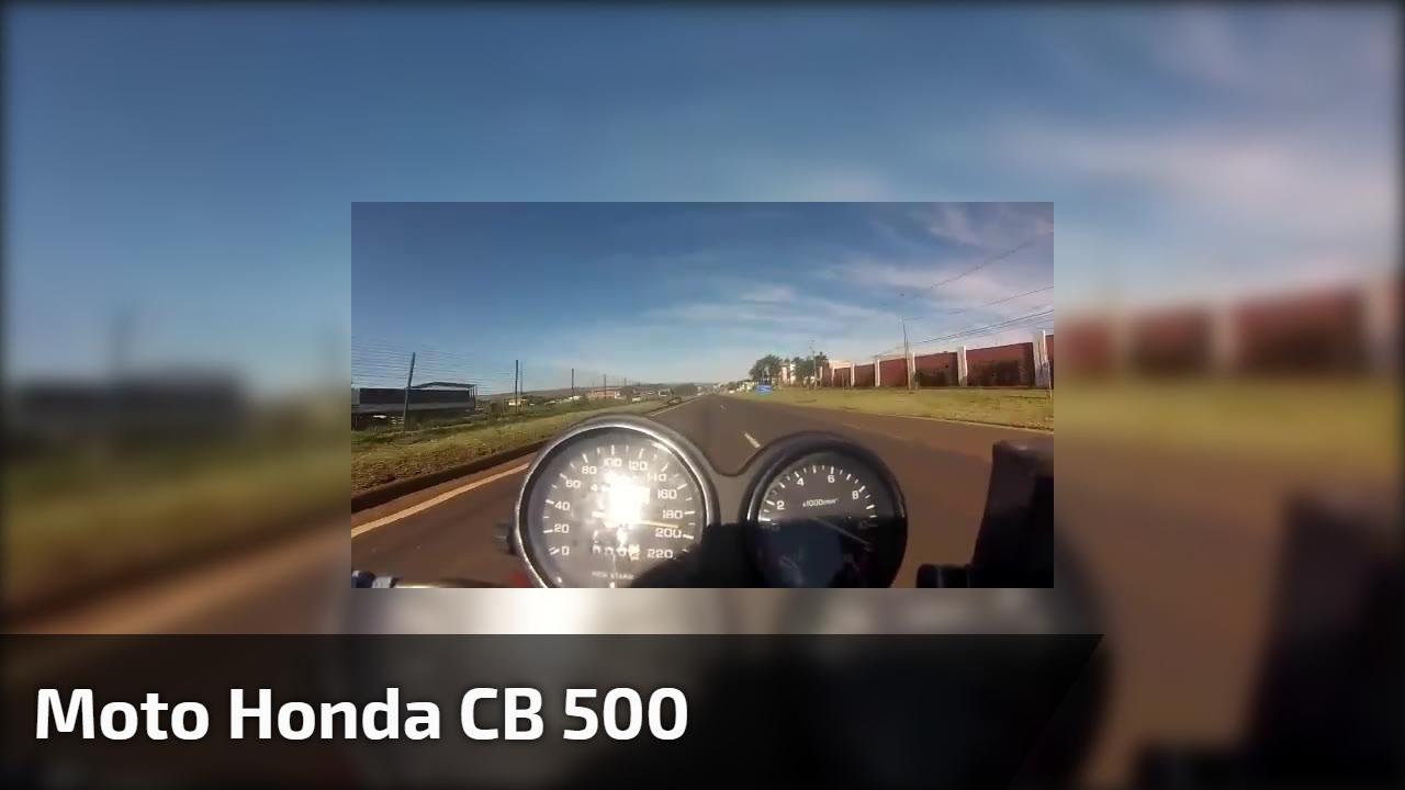 Moto Honda CB 500