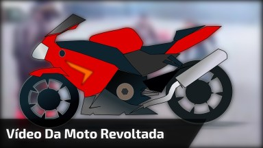 Moto Revoltada, Essa Não Quis Saber De Ninguém Parando Ela Hahaha!