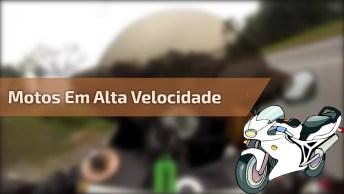 Motos Em Alta Velocidade Na Serra, Que Competição Arriscada Hein!