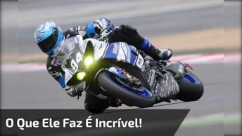 O Melhor Piloto De Moto Do Dia, O Que Ele Faz É Inacreditável!