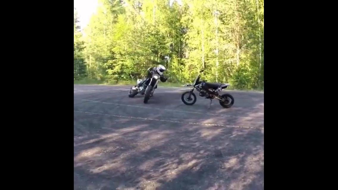 Os melhores domínios em cima de uma moto