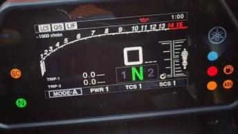 Painel Yamaha Yzf-R1, Veja Como É Bonito Cheio De Tecnologia!