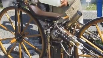 Primeira Moto A Vapor, Ou Bicicleta A Vapor? Confira E Compartilhe!
