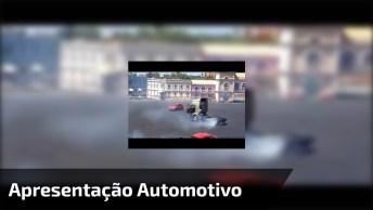 Show De Motos, Carros E Até Um Caminhão, Vale A Pena Conferir!