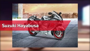 Suzuki Hayabusa - Veja Que Empinada Mais Louca Dessa Moto Monstro!