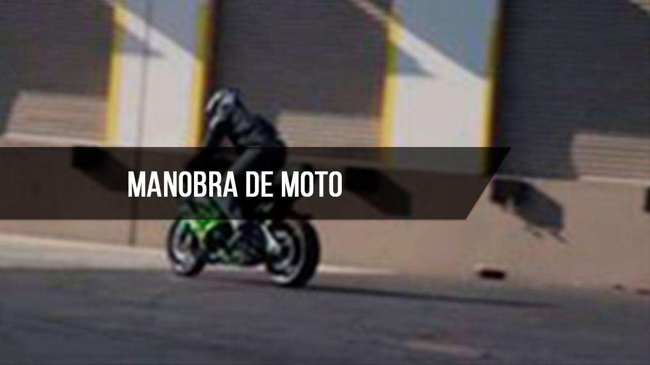 Vídeo com manobras de moto para os apaixonados por velocidade e aventura