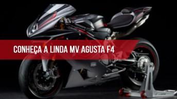 Vídeo Mostrando A Linda Mv Agusta F4, Veja Que Maquina Cheia De Velocidade!