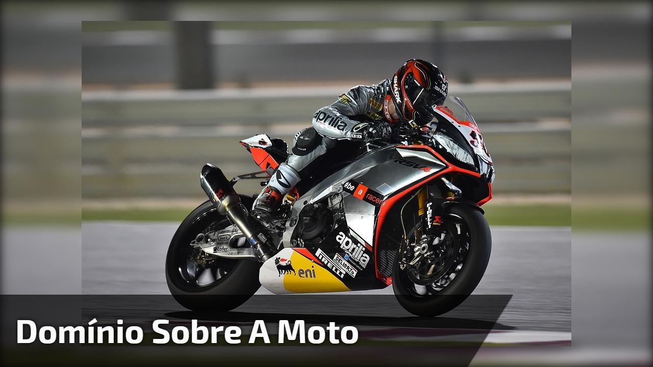 Domínio sobre a moto