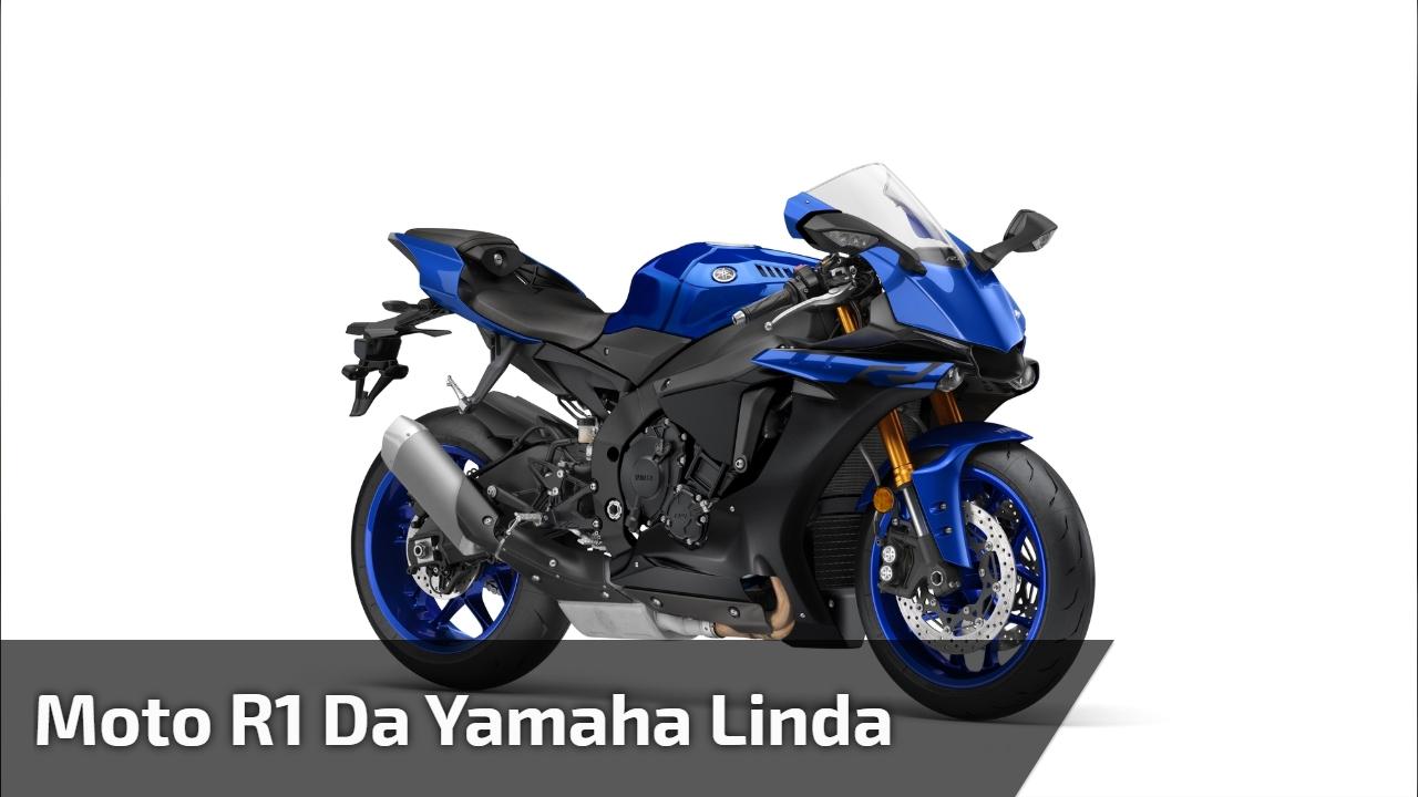 Moto R1 da Yamaha linda
