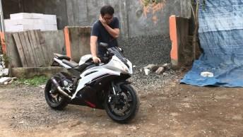 Vídeo Mostrando Som Do Motor Da Yamaha R6, Veja Que Linda!