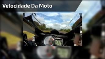 Vídeo Mostrando Velocidade De Moto, É De Arrepiar, Confira!