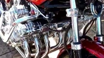 Vídeo Para Todos Apaixonados Por Motos, Olha Só Essa Maquina Linda!