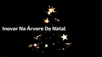 Natal Chegando, Que Tal Inovar Na Sua Árvore De Natal, Veja Só Esta Ideia!