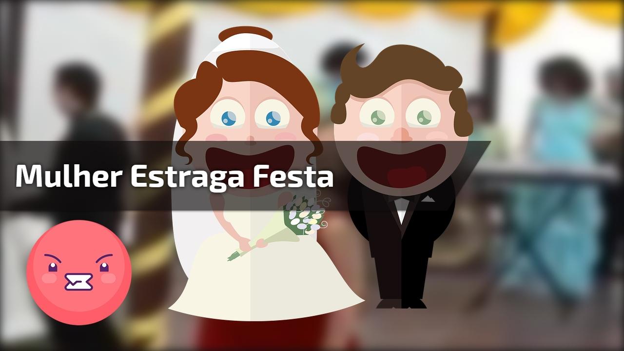 O dia de seu casamento é especial, dai vem sua amiga e faz isso !!