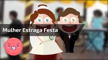 O Dia De Seu Casamento É Especial, Dai Vem Sua Amiga E Faz Isso!