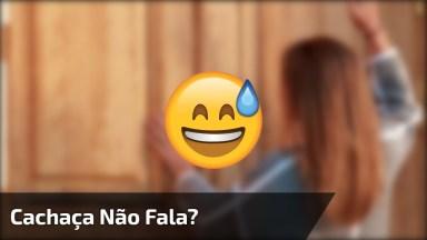 Video De Bêbado Engraçado, Cachaça Não Fala? Kkk, Confira!
