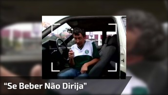 Video De Bêbado Só Mostra Que Não Se Deve Beber E Dirigir, Confira!