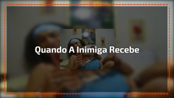 Video De Humor - Quando A Inimiga Recebe O Salário, Já Vai Beber!