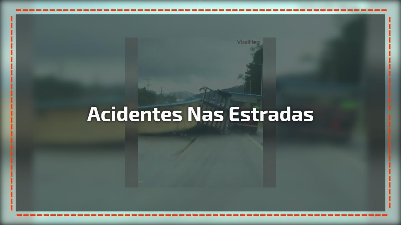 Acidentes nas estradas