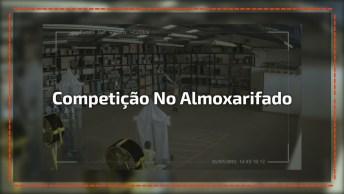 Competição Divertida De Barcos À Vela No Depósito, Mas Algo Deu Errado No Final!