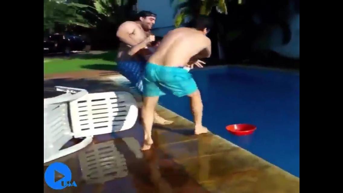 Deu ruim para essas pessoas do video, para dar muitas risadas hahaha!
