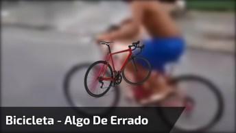Foi Empinar Uma Bicicleta E Algo De Errado Aconteceu, Muito Engraçado Kkk!