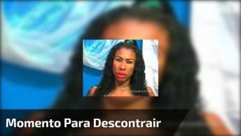 Inês Brasil Explicando O Por Que O Mundo Existe, Para Dar Nó No Cérebro Kkk!
