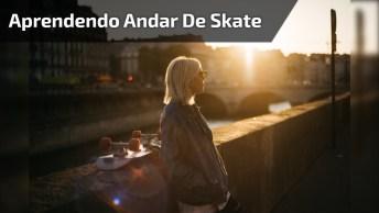 Juliana Se Lascou Ao Aprender Andar De Skate, O Melhor É A Narração Hahaha!