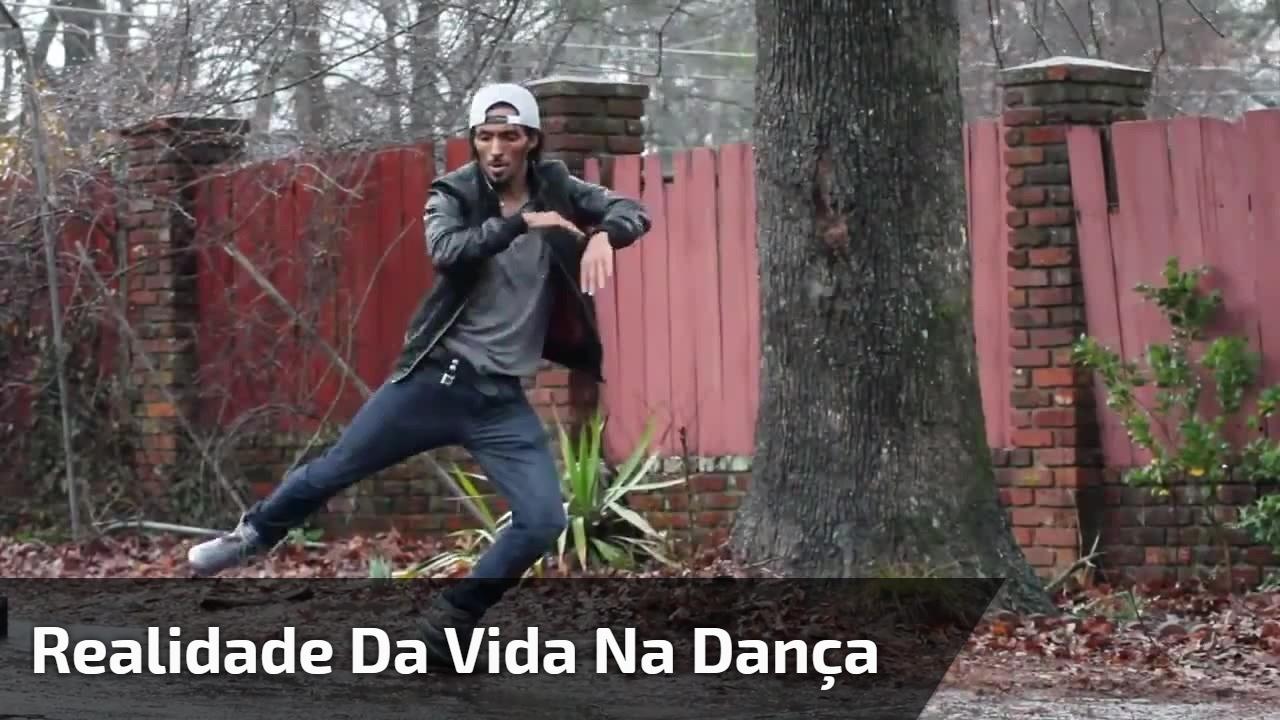 Realidade da vida na dança