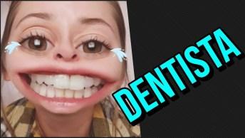 A Realidade Sobre Ir No Dentista Com Efeito Divertido, Para Dar Muitas Risadas!