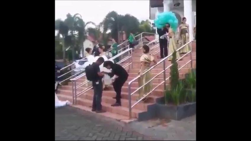 Acidentes de casamentos mais engraçados