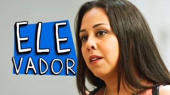 Briga De Mulher Na Porta Do Elevador, Um Vídeo De Humor Para Rir Muito!