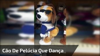 Cachorro De Pelúcia Que Mexe O Bumbum, Marque As Amigas Do Facebook!