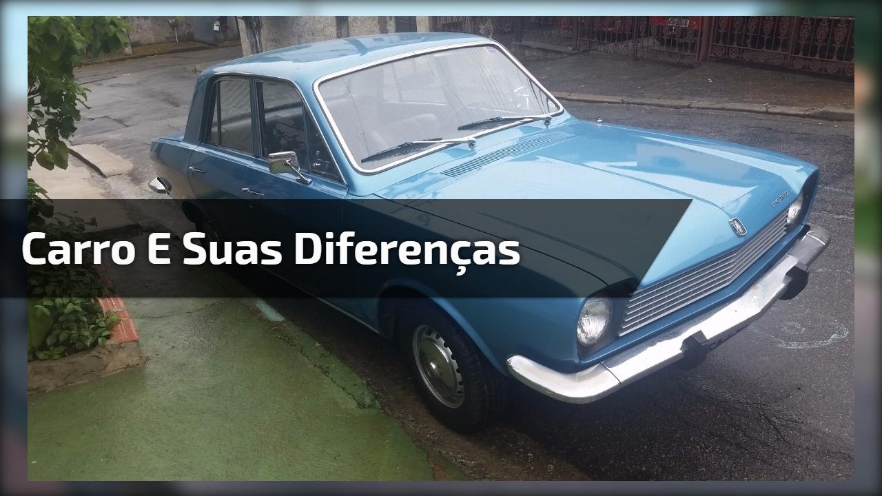 Carro e suas diferenças