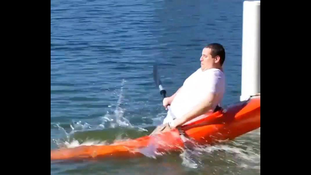 Coisas engraçadas que acontecem com pessoas e águas hahaha!