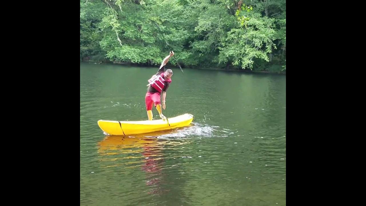 Coisas engraçadas que acontecem na água