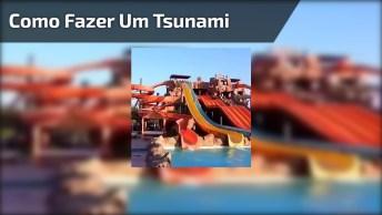 Como Fazer Um Tsunami Em Um Clube De Campo, Molhou Todo Mundo Hahaha!
