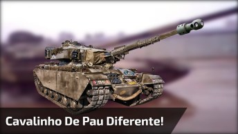 Dando Cavalinho De Pau Com Tanque De Guerra Hahaha, Só Para Os Fortes!